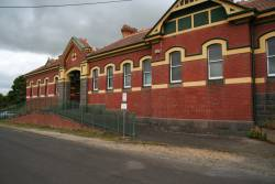 Street side of Korumburra station