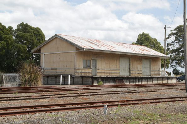 Goods shed at Korumburra