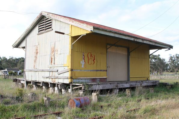 Goods shed at Nyora