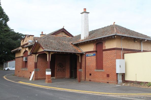 Station building at Leongatha