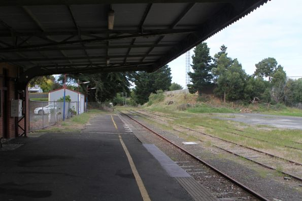 Track still in place at Leongatha station for now