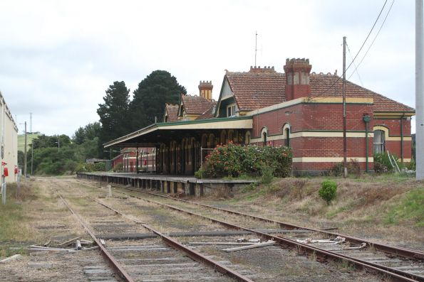 Track still in place at Korumburra station for now