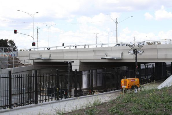 Civic Drive overpass at South Morang