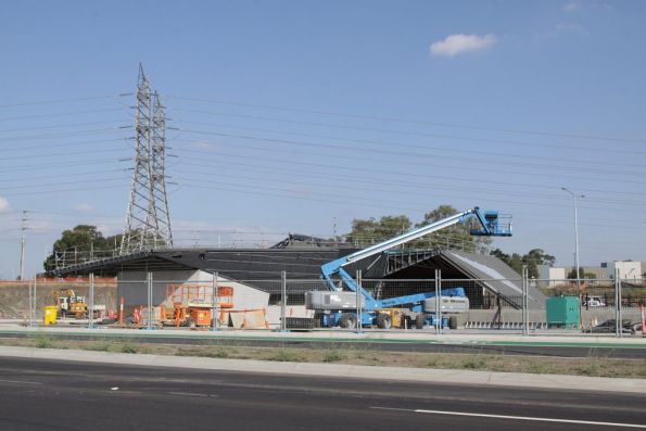 South Morang rail extension project