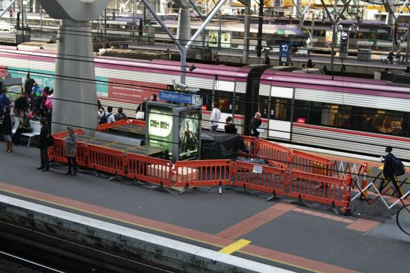 Escalator repairs underway at Southern Cross platforms 11 and 12