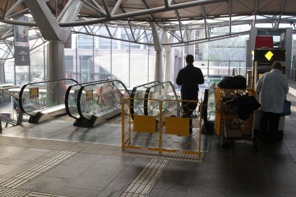 Another broken escalator at Southern Cross Station - linking Spencer Street and the suburban concourse