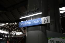 'Interim lighting solution' in place at Southern Cross platforms 13 and 14