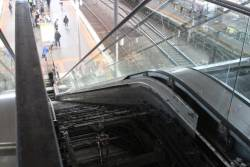 All steps removed from the failed escalator to Southern Cross platform 9 and 10