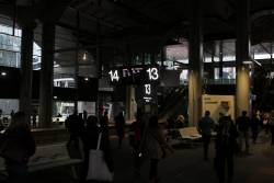 Southern Cross platforms 13 and 14 still dark and dank