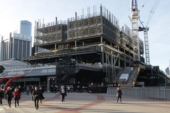 More floors added to the 699 Bourke Street development atop Southern Cross Station