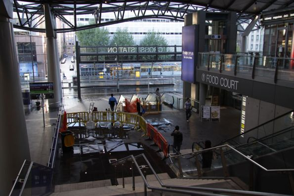 Southern Cross Station storm damage, 2010
