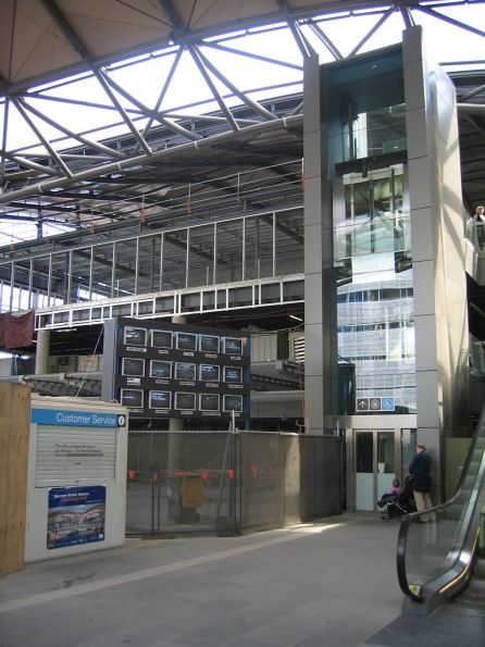 New Station Concourse at the Collins Street end
