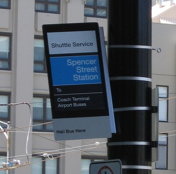 'Spencer Street Station' still popping up after the renaming