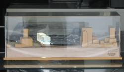 Model of Southern Cross Station, located in the architect's office