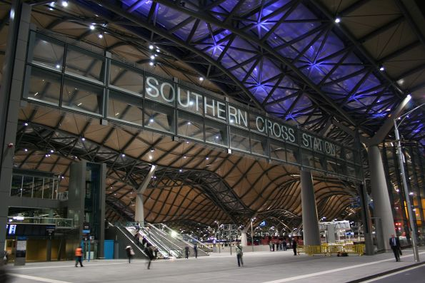 Main entry to Southern Cross