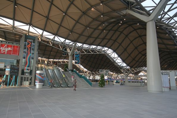 Main concourse from Spencer Street