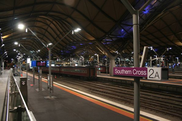 Stabled for the night at Southern Cross