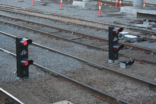 New LED signals at Southern Cross