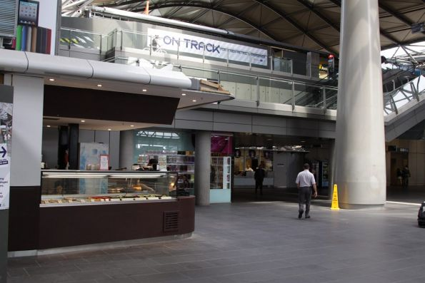 Tower Sushi relocated to the lower level Collins Street concourse