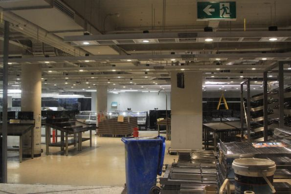 Fitting out the new Woolworths supermarket at Southern Cross