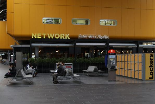 'Network' - a new bar and pizza restaurant on the Spencer Street frontage