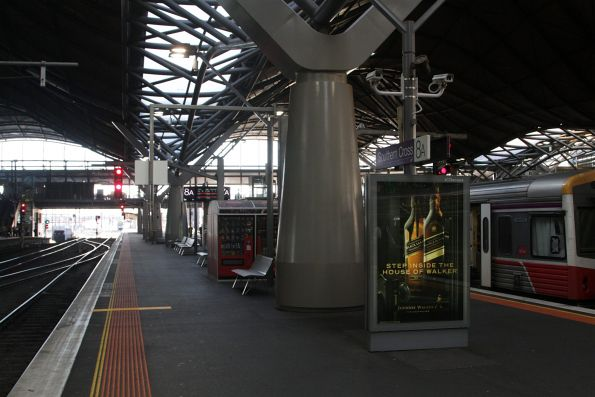 Additional CCTV cameras installed at the south end of platforms 7 and 8