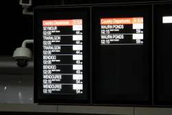 Last V/Line departures of the night are all 'Night Coach' services