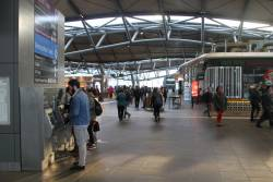 Suburban concourse at the Collins Street end of Southern Cross Station