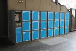 Lockers are back at Southern Cross Station