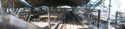 Panorama from above platform 10