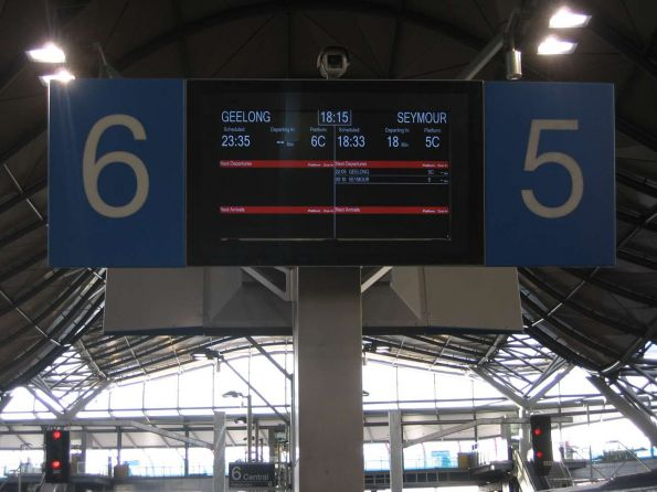 New PIDS on the country platforms at Southern Cross
