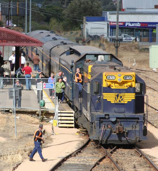 SRHC - Bairnsdale Blue Train Tour, January 2007