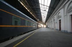 The SRHC Blue Train at Ballarat