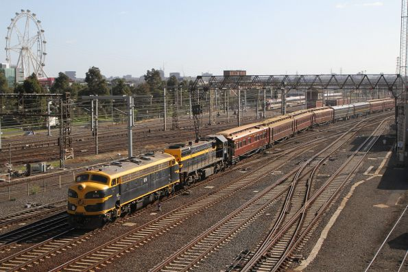 B74 leads X31 into Southern Cross