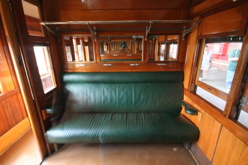 Interior of an BE car compartment