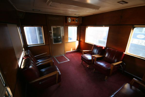 Second saloon at the 'flat' end of Parlor Car