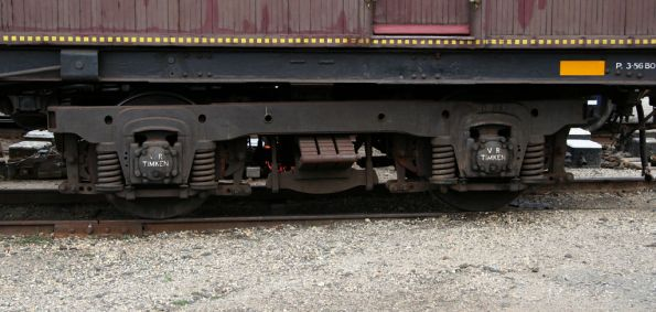 4-wheel E car bogie, ex-broad gauge SOP cars