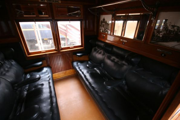 First class compartment of a AE carriage