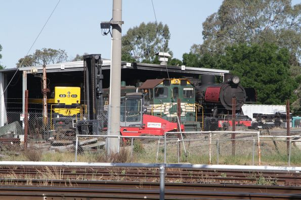 X31, Y119 and J151 in the SRHC depot