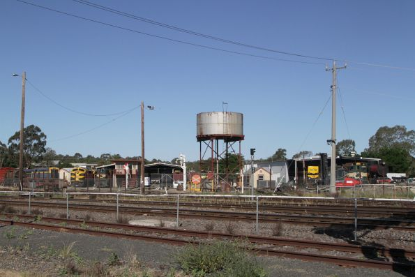 Overview of the SRHC depot from the other side of the mainline