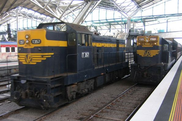 T357 and T320 at Southern Cross