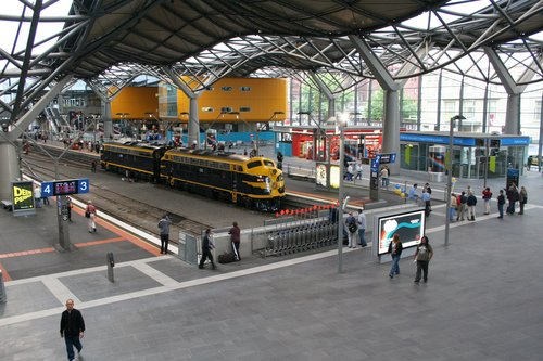 S303 and B74 sitting in the loco release road