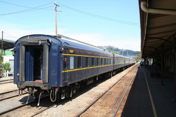 Shunting the train at Wodonga