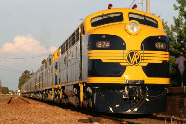 The train at Benalla
