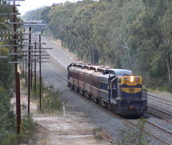 T320 leads at the Old Hume Highway