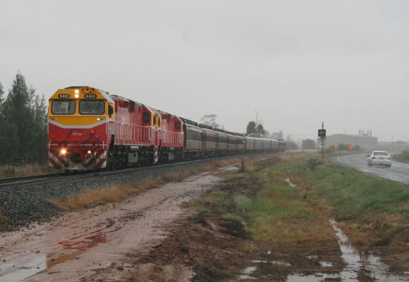 Departing Shepparton near the Dookie line junction