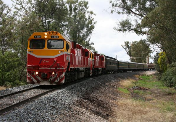 Departing Tocumwal for Seymour