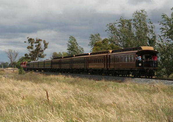 Chasing the train towards Katunga