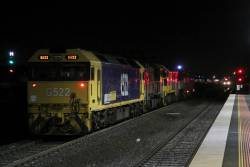 B75 leads P18, T385, P17 and G522 through Sunshine ex-SSR Bendigo