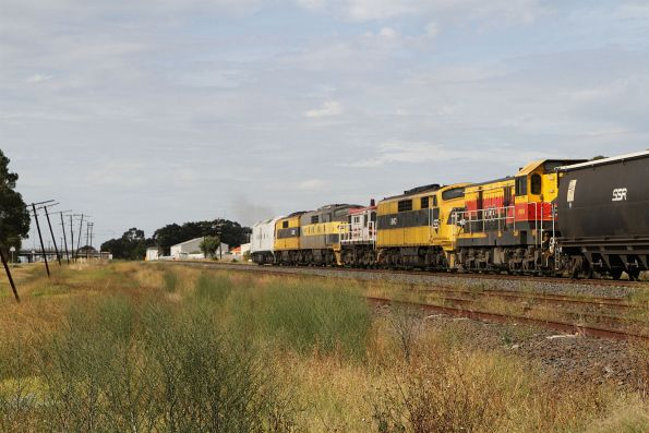 CLF3 leads GM22, GM27, 48s36, GM10 and 4911 on the down at Albion